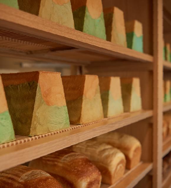 並んだ食パン